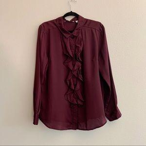 NWOT Isaac Mizrahi live blouse